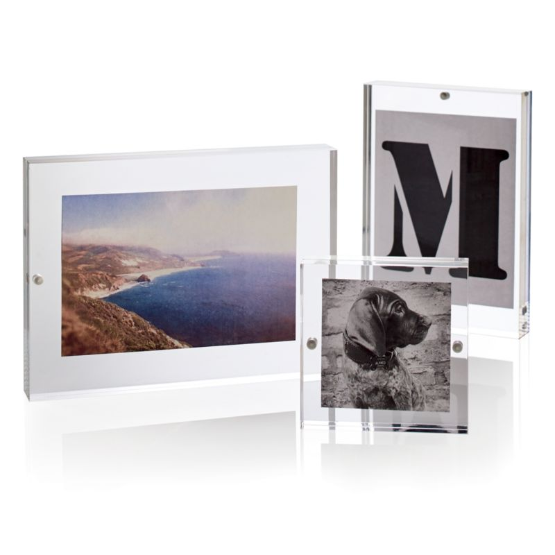 8x10 Picture Clear Frames