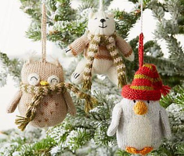 Alpaca Animal Ornaments