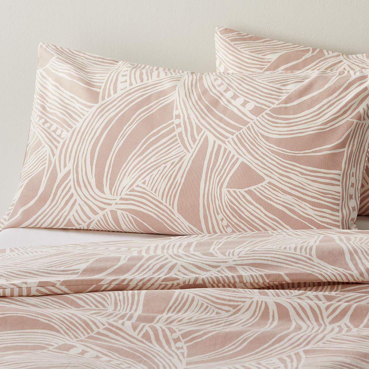 light pink pillow shams online