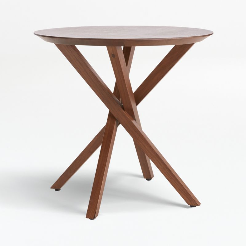 apex round end table reviews crate and barrel