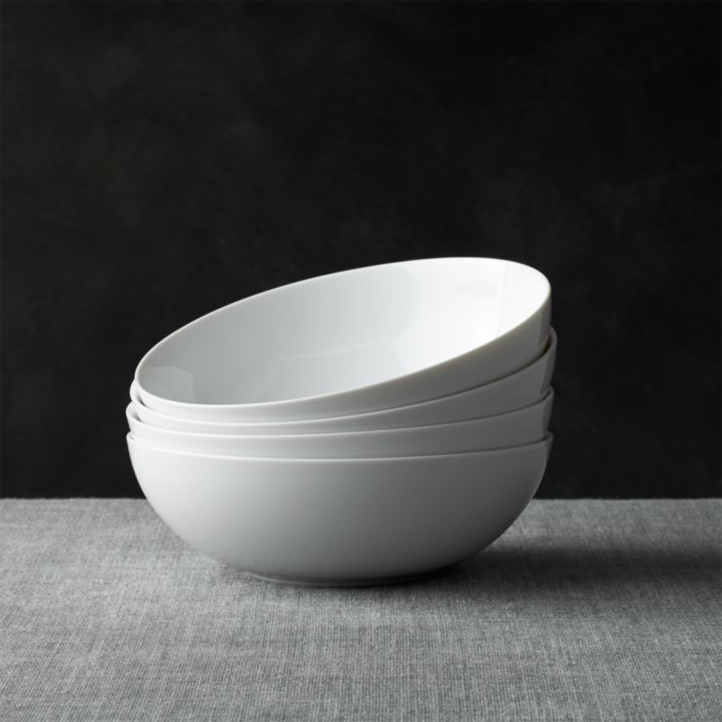 Set Of 4 Bistro 8 Bowls Reviews Crate And Barrel