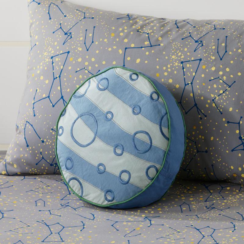 Kids Throw Pillows Kids Solar System Amp Planet Throw
