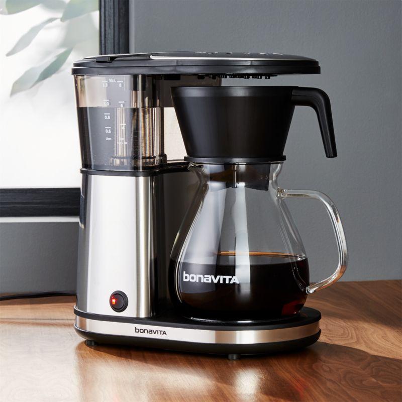 Bonavita 8 Cup Glass Carafe Coffee Maker Crate And Barrel