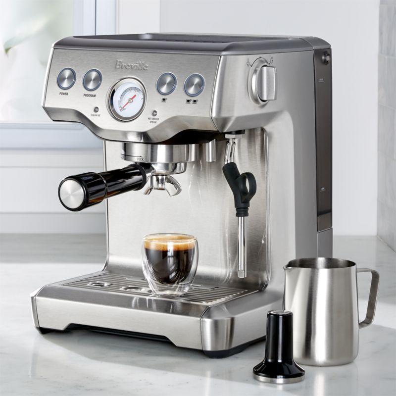 Breville Infuser Espresso Machine Crate And Barrel
