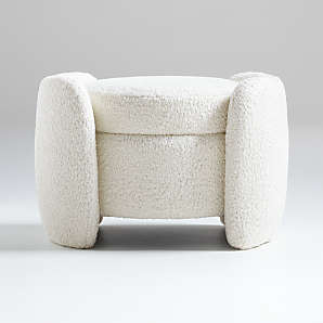 ottomans poufs benches crate and