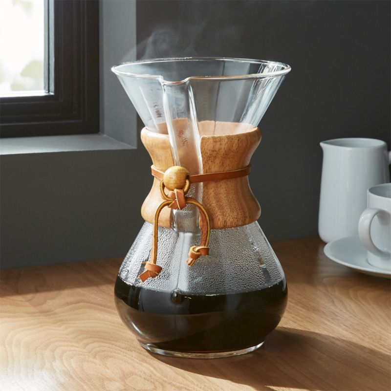 Chemex 6 Cup Coffeemaker With Wood Collar Reviews