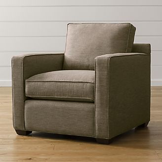Clearance   Outlet Furniture  Sofas and Dining Tables   Crate and Barrel Davis Chair