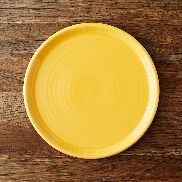 Farmhouse Yellow Dinner Plate Crate And Barrel