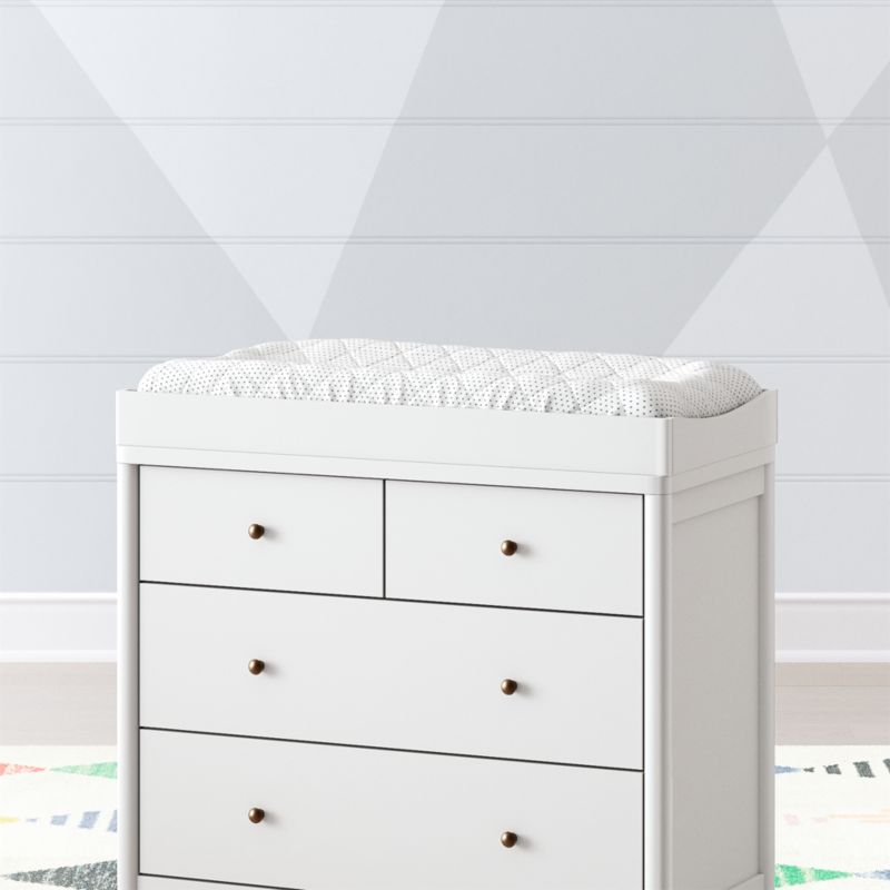 Hampshire White Changing Table Topper + Reviews