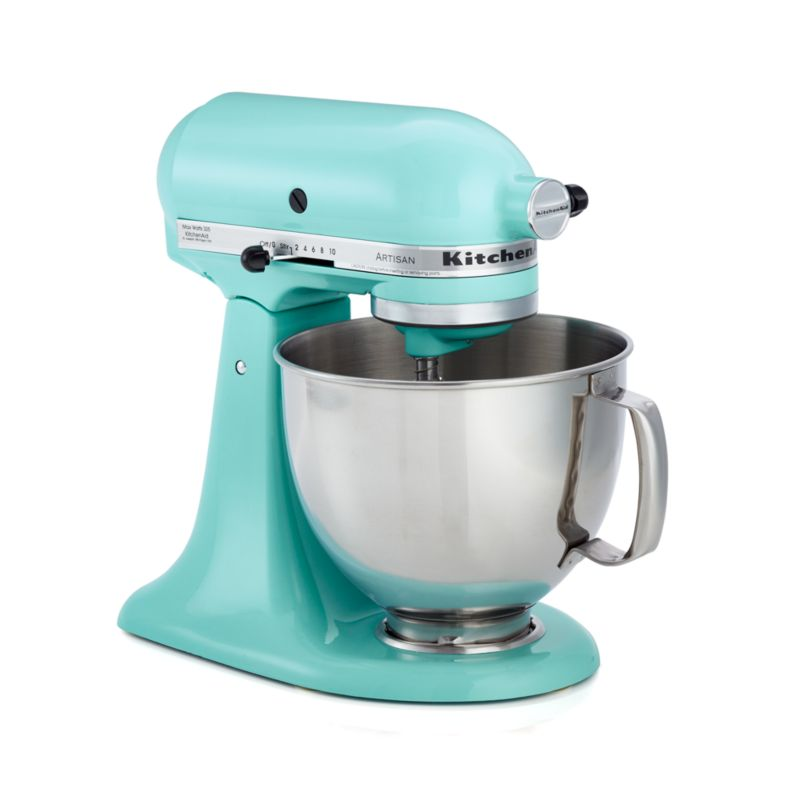 KitchenAid KSM150PSIC Artisan Ice Blue Stand Mixer In