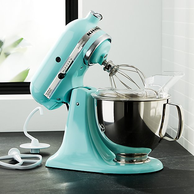 KitchenAid KSM150PSIC Artisan Ice Blue Stand Mixer Crate