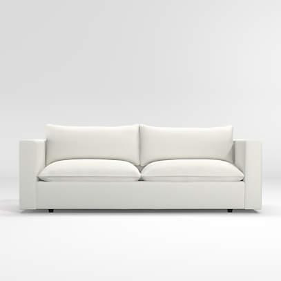 lotus low sofa crate and barrel