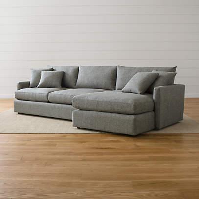 lounge ii 2 piece sectional sofa