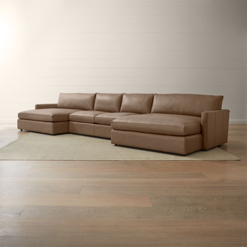 Sectional Two Chaise Lounges