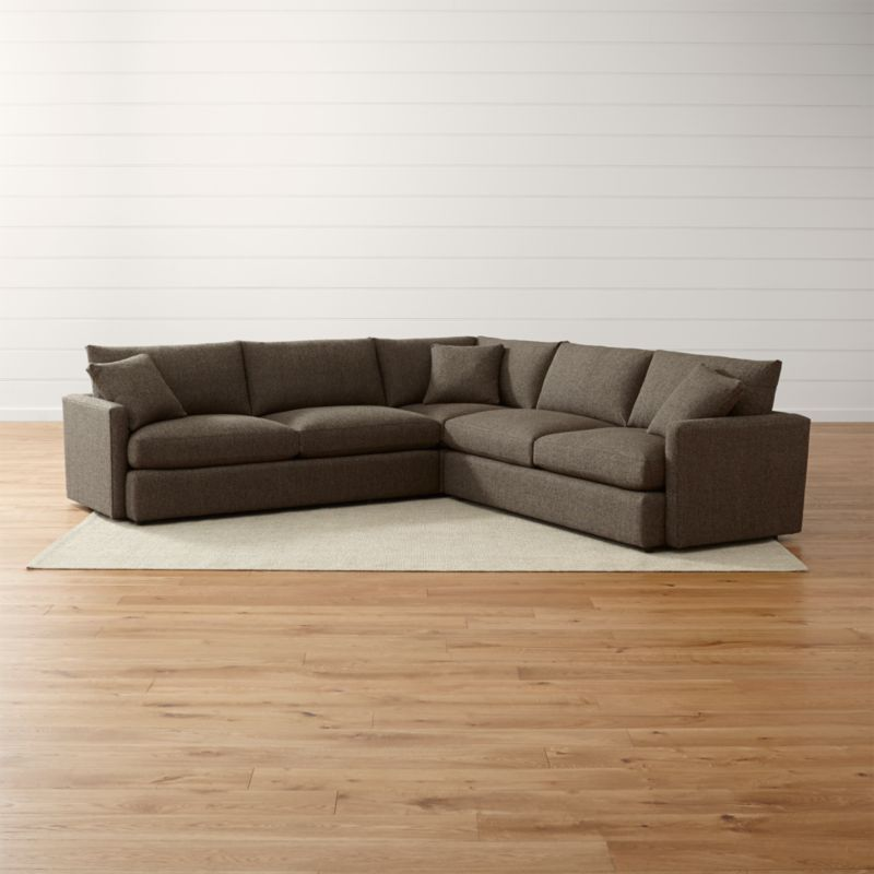 Crate And Barrel Sectional Sofas Lounge Ii Soft Sectional