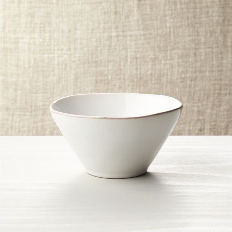 Marin White Bowl Reviews Crate And Barrel