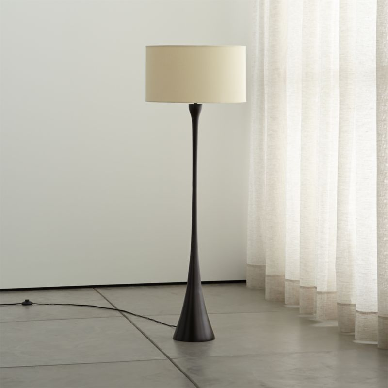 Melrose Bronze Floor Lamp Crate And Barrel