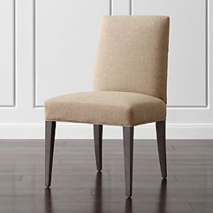 Shop Dining Chairs   Kitchen Chairs   Crate and Barrel Miles Upholstered Dining Chair