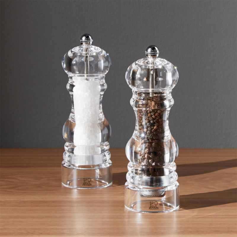 Peugeot Acrylic Salt And Pepper Grinders Reviews Crate