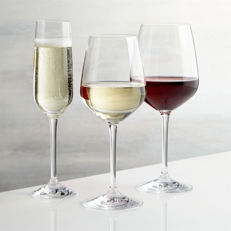 Nattie Wine Glasses Crate And Barrel