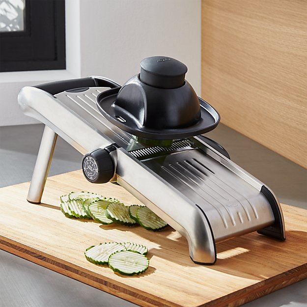 OXO Stainless Steel Mandoline Crate And Barrel