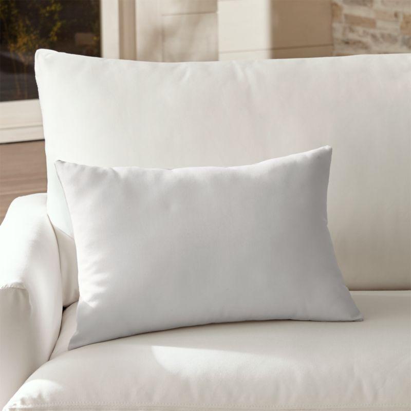 Sunbrella White Sand Outdoor Lumbar Pillow Reviews