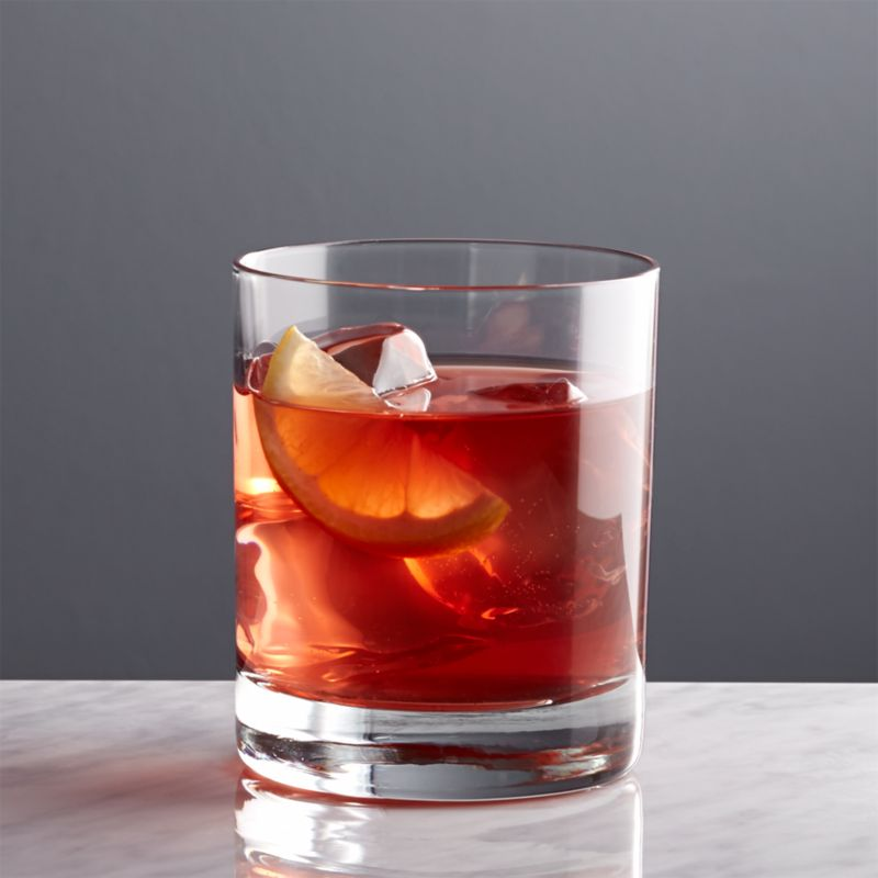 Peak Double Old Fashioned Glass Crate And Barrel