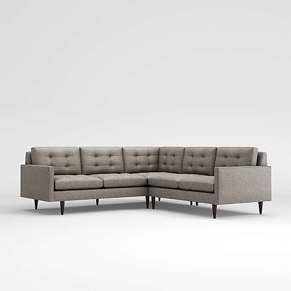 mid century sofas crate and barrel