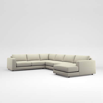 peyton 4 piece right arm chaise sectional