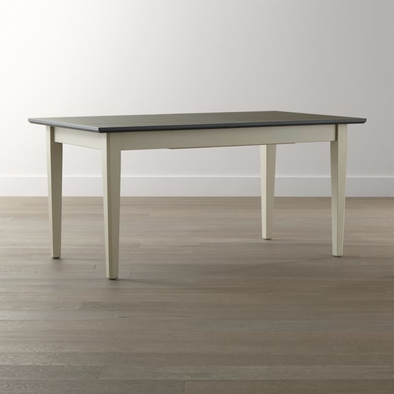 pranzo ii vamelie extension dining table reviews crate and barrel