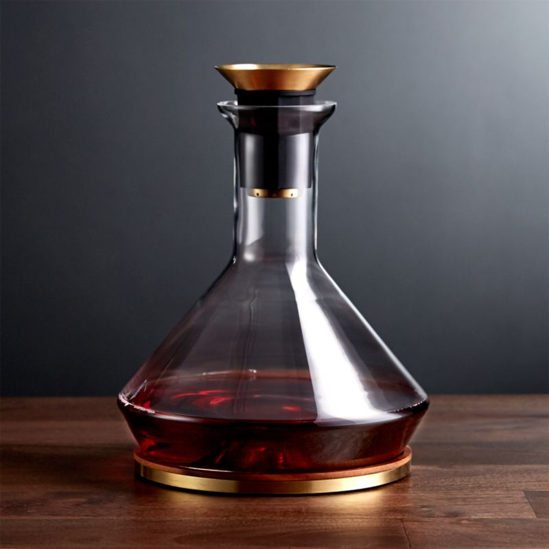 Rabbit Rbt Wine Decanter Reviews Crate And Barrel