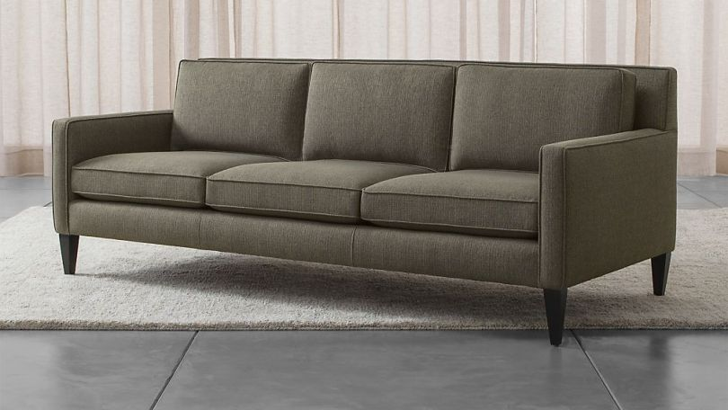 Rochelle Mid Century Modern Sofa   Reviews   Crate and Barrel
