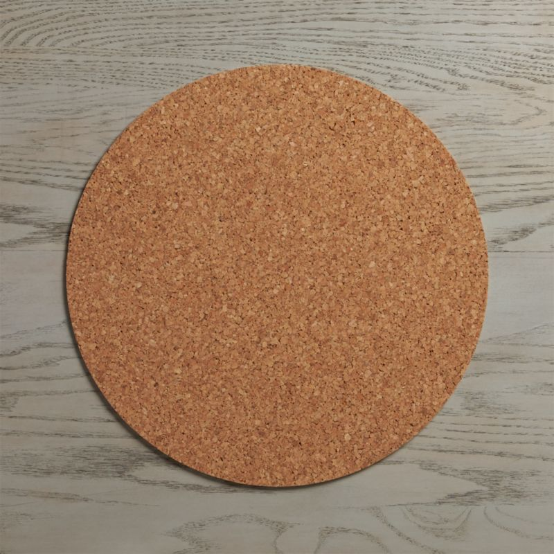 Round Cork Placemat Crate And Barrel