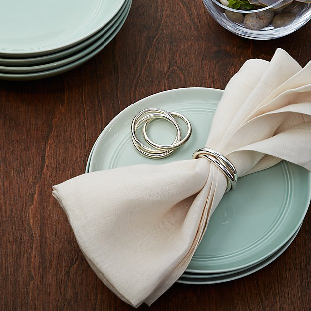 3 Ring Napkin Ring Crate And Barrel