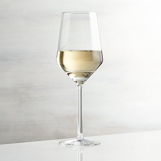 Tour White Wine Glass Crate And Barrel