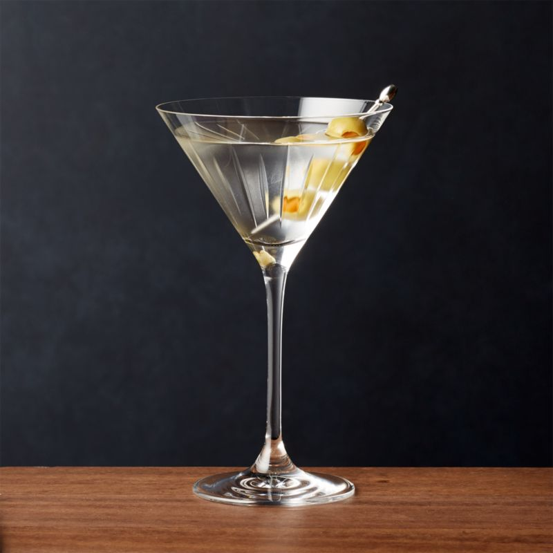Vance Cut Glass Martini Reviews Crate And Barrel