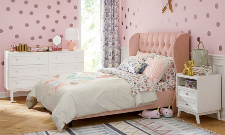 girls bedroom inspiration crate and