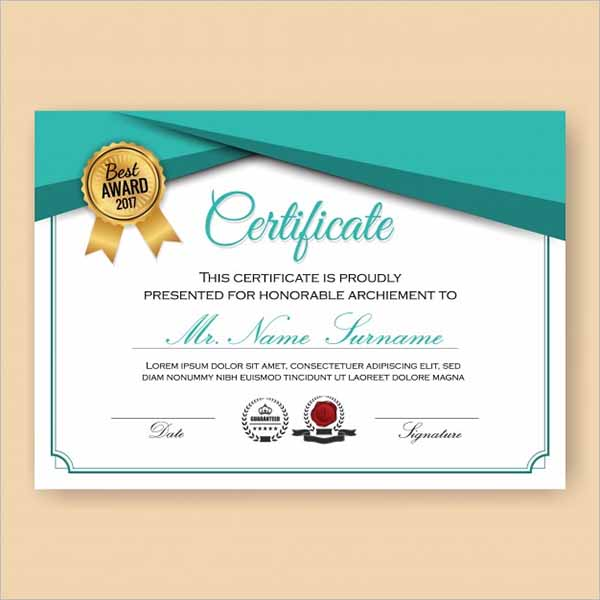 106 Certificate Design Templates Free Psd Word Png Ppt