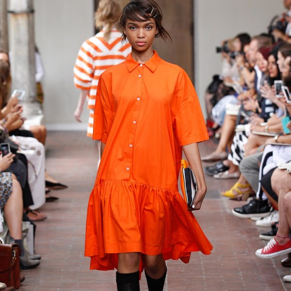 eclectic     Accomplished Mix of Styles beyond the Mainstream   Zurich     Eclectic Fashion Shop Z    rich oranges Kleid