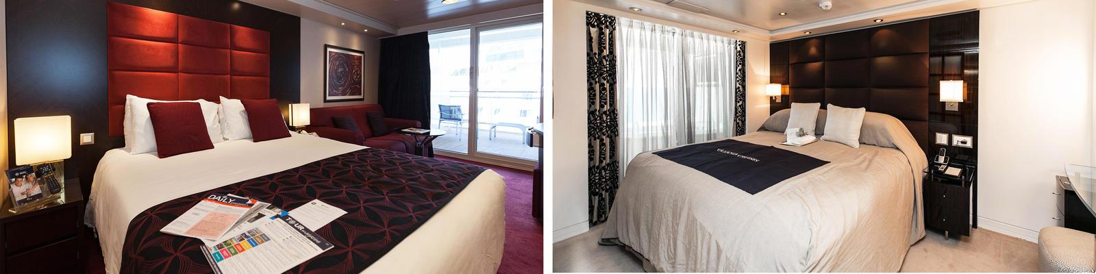 cruise balcony vs suite a cabin comparison photos cruise critic