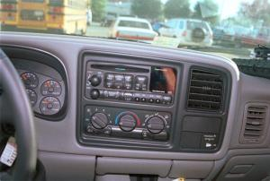 19992002 Chevy Silverado and GMC Sierra Regular Cab Car Audio Profile