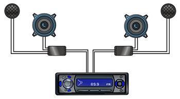 crossover wiring diagram wiring diagrams car audio crossover wiring diagram nodasystech