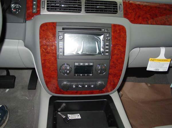 2008 Silverado Stereo Dash Kit