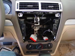 20062009 Ford Fusion and Mercury Milan Car Audio Profile