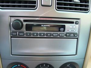20032008 Subaru Forester Car Audio Profile