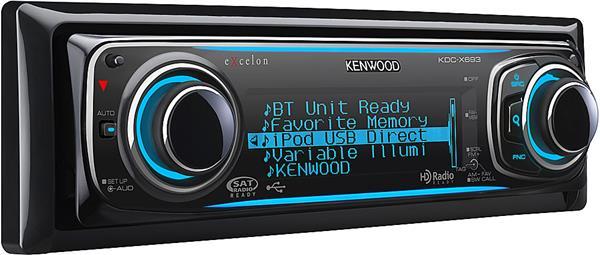 kenwood excelon kdcx693 cd receiver at crutchfield