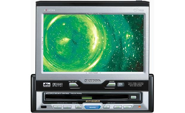 Kenwood Excelon KVT-911DVD CD/DVD Receiver / TV Tuner / 6