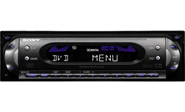 Sony Mex R5 In Dash Dvd Cd Player