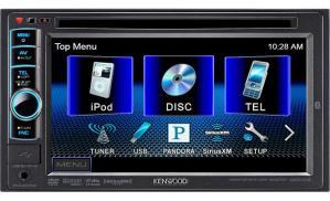 Kenwood DDX419 DVD receiver at Crutchfield