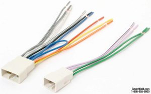 Metra 701761 Receiver Wiring Harness Connect a new car stereo to the factory wiring in select